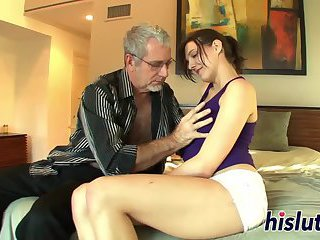 Young slut gets banged by a stud