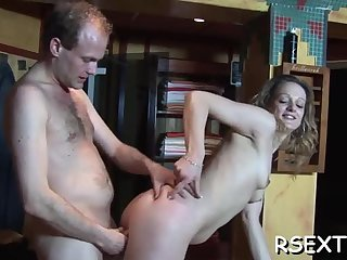 Fatty fingered and sucking