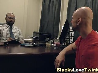 Black doctor fucking white ass