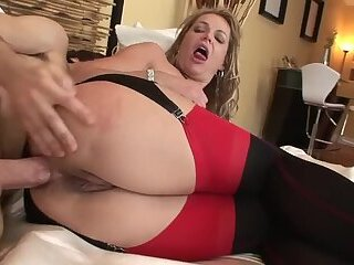 Kelly Leigh analyzed and creampied