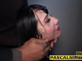 Teen doggystyled hard in BDSM fetish scene