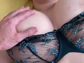 Fucking Hot BBW in Lace Lingerie after Office