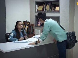 Hot Hindi girl boss having sex with everyone Hindi