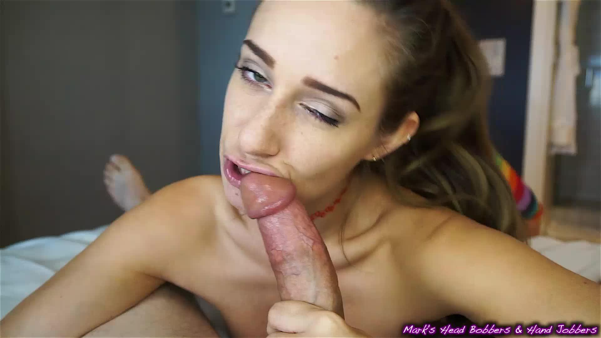 Big Tits Sloppy Blowjob Pov